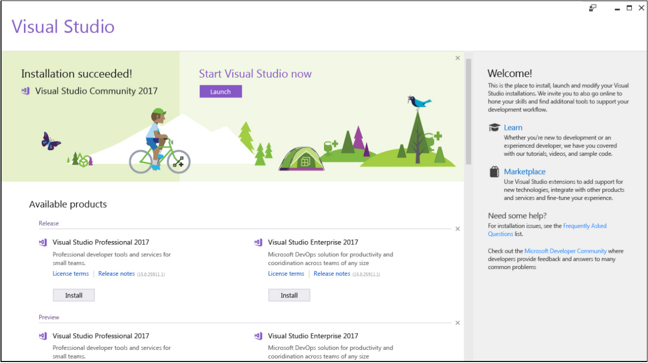 Visual Studio 2017 15.4 正式发布,更快更好用
